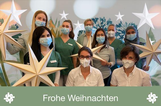 Weihnachten Zahnarztpraxis Poststraße